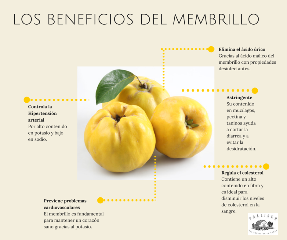 Beneficios del membrillo