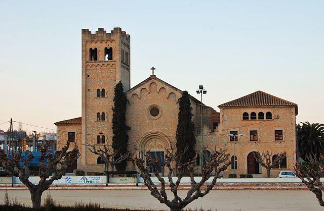 La iglesia de Santa Maria de Vallformosa es un construcción històrica de Vilobí del Penedés