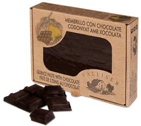Membrillo tradicional con chocolate
