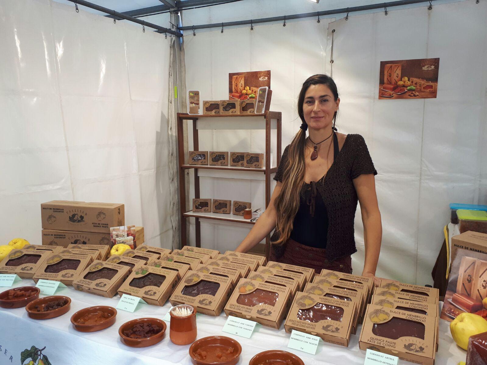 La empresa artesana Valliser participó en la popular feria de Barcelona