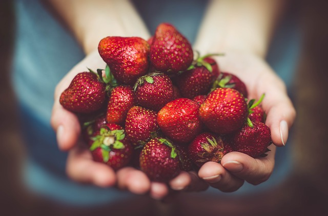 La fresa es una fruta de primavera muy saludable