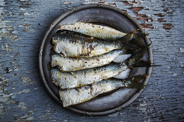 Sardinas, un alimento saludable